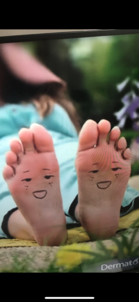 What is it with feet?